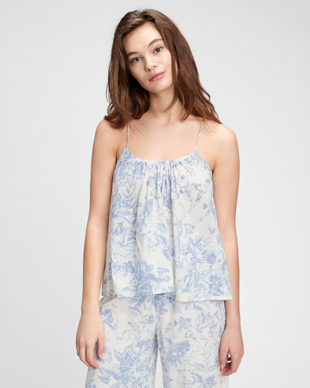 GAP Dreamwell Shirred Racerback Top pentru dormit