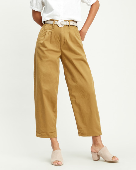 Levi's® Pleated Balloon Pantaloni